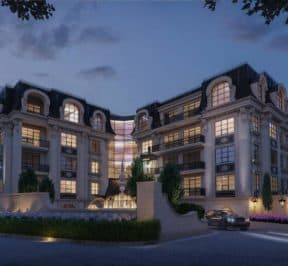 200 Russell Hill Condos - Street Level View - Exterior Render 2