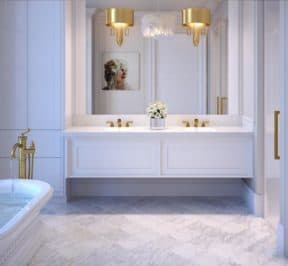 200 Russell Hill Condos - Suite - Classic Bathroom - Interior Render