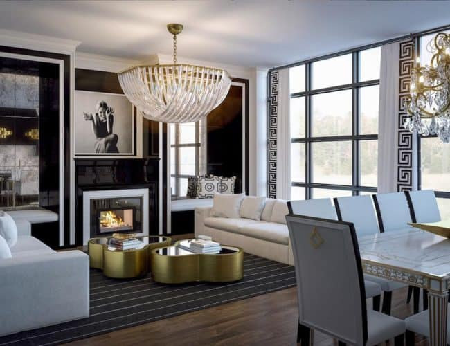 200 Russell Hill Condos - Suite - Classic Living Room - Interior Render