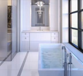 200 Russell Hill Condos - Suite - Modern Bathroom - Interior Render