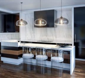 200 Russell Hill Condos - Suite - Modern Kitchen - Interior Render