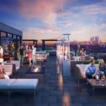 8 Haus Boutique Condos - Rooftop Terrace - Exterior Render