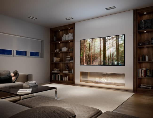 Bayview on the Park Towns - Suite - Family Room - Interior Render