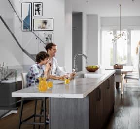 Bayview on the Park Towns - Suite - Kitchen - Interior Render