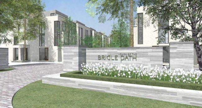 Bridle Path Townhomes - Entrance - Exterior Render