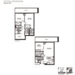 Empire Midtown Condos - D-2D - Floorplan