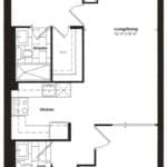 Empire Midtown Condos - I-1 - Floorplan
