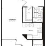 Empire Midtown Condos - I-2 - Floorplan