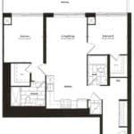 Empire Midtown Condos - I-2D - Floorplan