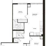 Empire Midtown Condos - I-3 - Floorplan