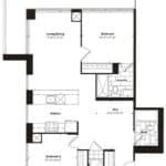 Empire Midtown Condos - I-3D - Floorplan