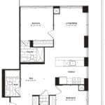 Empire Midtown Condos - I-5D - Floorplan