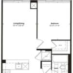 Empire Midtown Condos - M-3 - Floorplan