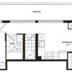Empire Midtown Condos - M-5 - Floorplan