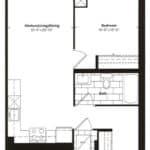 Empire Midtown Condos - M-6 - Floorplan