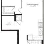 Empire Midtown Condos - M-6D - Floorplan