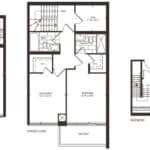 Empire Midtown Condos - Town 2 - Floorplan