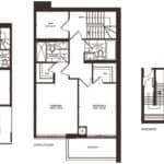 Empire Midtown Condos - Town 3 - Floorplan