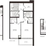 Empire Midtown Condos - Town 4 - Floorplan