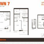 Empire Midtown Condos - Town 7 - Floorplan
