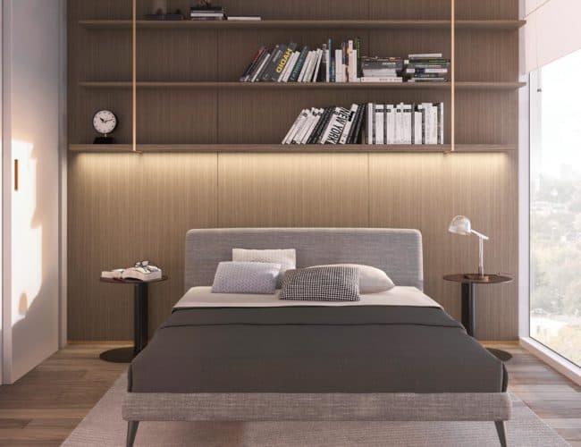 Rodeo Drive Condos - Bedroom 2 - Interior Render