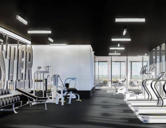Rodeo Drive Condos - Gym - Interior Render