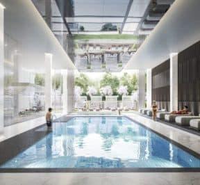 Rodeo Drive Condos - Pool - Interior Render