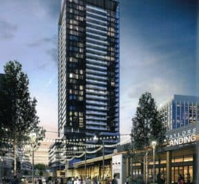 Rodeo Drive Condos - Street Level View -Exterior Render 2