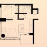 Solstice Montreal Condos - 2410 - Floorplan