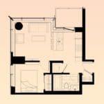 Solstice Montreal Condos - 2702 - Floorplan