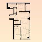 Solstice Montreal Condos - 3707 - Floorplan