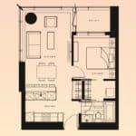 Solstice Montreal Condos - 709 - Floorplan