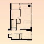Solstice Montreal Condos - 805 - Floorplan