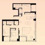 Solstice Montreal Condos - PH 4007 - Floorplan
