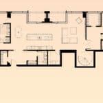 Solstice Montreal Condos - Super PH 4102 - Floorplan