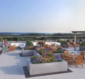 South District Condos - Rooftop - Exterior Render