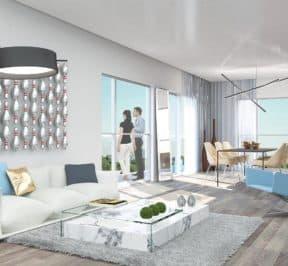 The Lanes Condos - Suite - Interior Render
