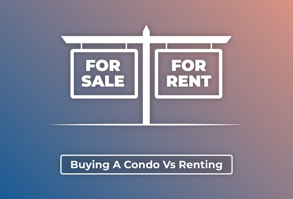 Precondo - Blog Post - Buying A Condo Vs Renting - Hero Image