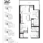 JAC Condos - Jacob 735 - Floorplan
