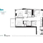 JAC Condos - Jaden 697 - Floorplan