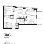 JAC Condos - Jamal 763 - Floorplan