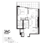 JAC Condos - Jane (T) 566 - Floorplan