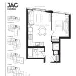 JAC Condos - Jenna 475 - Floorplan