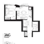 JAC Condos - Jessica 508 - Floorplan