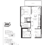 JAC Condos - Joanne 581 - Floorplan