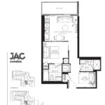 JAC Condos - Juan 604 - Floorplan