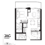 JAC Condos - Julian 575 - Floorplan