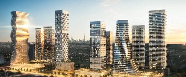 a list of preconstruction condos for sale in Mississauga