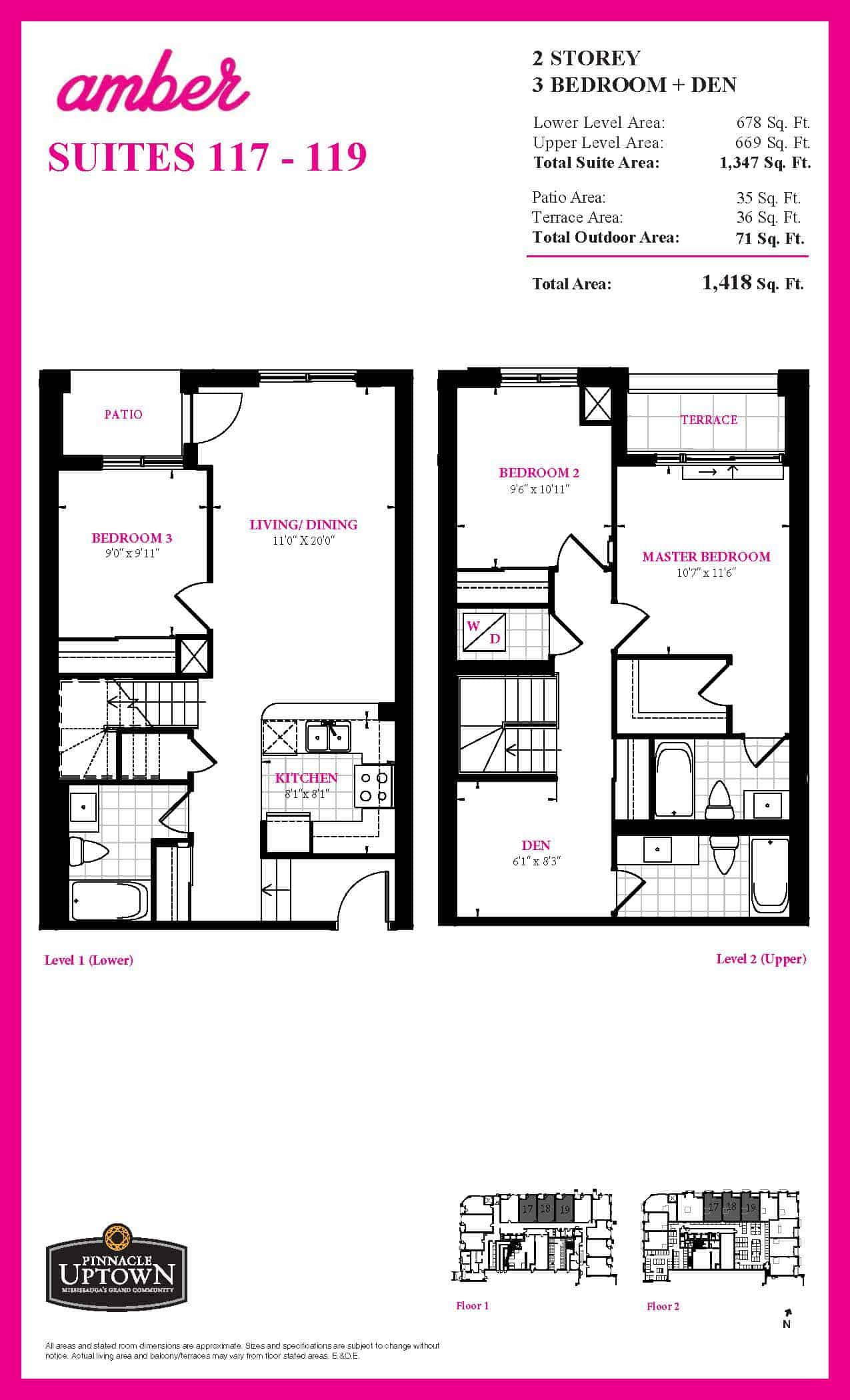 Suite 117 - 119